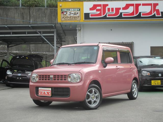 沖縄の中古車 スズキ アルトラパン 車両価格 74万円 リ済込 2011(平成23)年 5.6万km ピンク