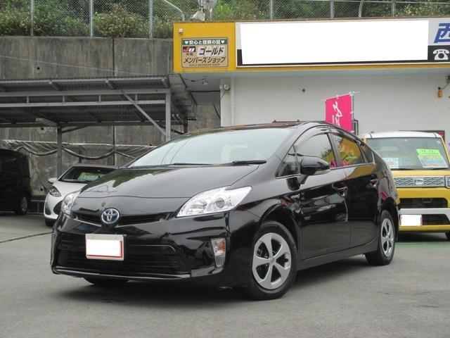 沖縄の中古車 トヨタ プリウス 車両価格 149万円 リ済込 2014(平成26)年 6.3万km ブラック