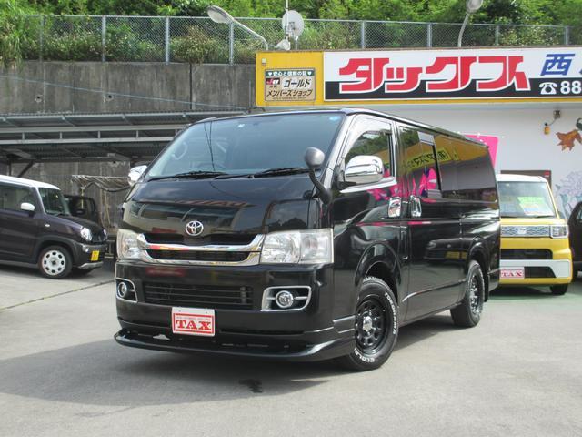 沖縄の中古車 トヨタ ハイエースバン 車両価格 179万円 リ済込 2009(平成21)年 14.4万km ブラック