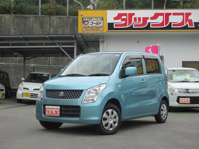 沖縄の中古車 スズキ ワゴンR 車両価格 65万円 リ済込 2010(平成22)年 5.0万km ライトブルー