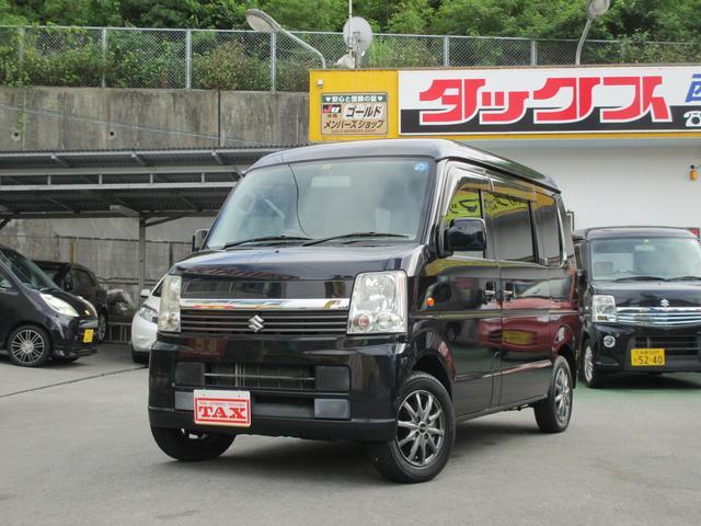 沖縄の中古車 スズキ エブリイワゴン 車両価格 74万円 リ済込 2010(平成22)年 8.1万km ブラック