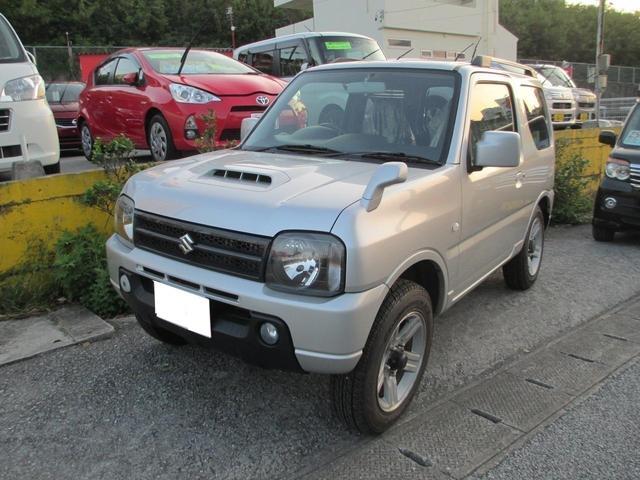沖縄の中古車 スズキ ジムニー 車両価格 94万円 リ済込 2012(平成24)年 8.0万km シルバー
