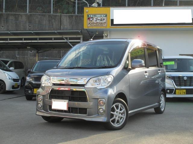 沖縄の中古車 ダイハツ タントエグゼ 車両価格 74万円 リ済込 2012(平成24)年 7.4万km グレー