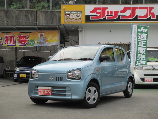 沖縄の中古車 スズキ アルト 車両価格 78万円 リ済込 2019(平成31)年 552km ライトブルー