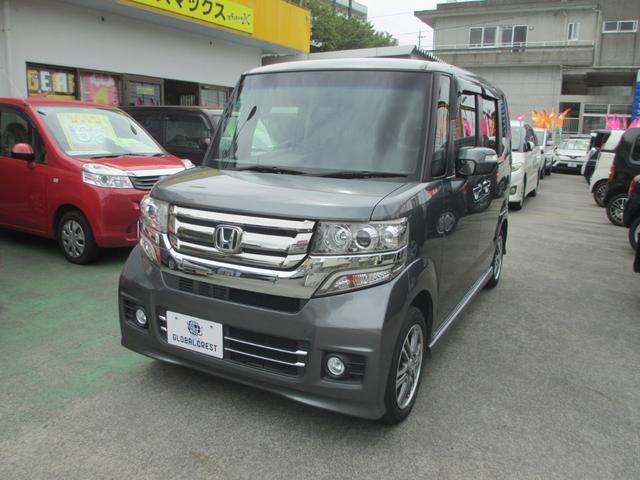 沖縄県の中古車ならN-BOX+カスタム G スローパー