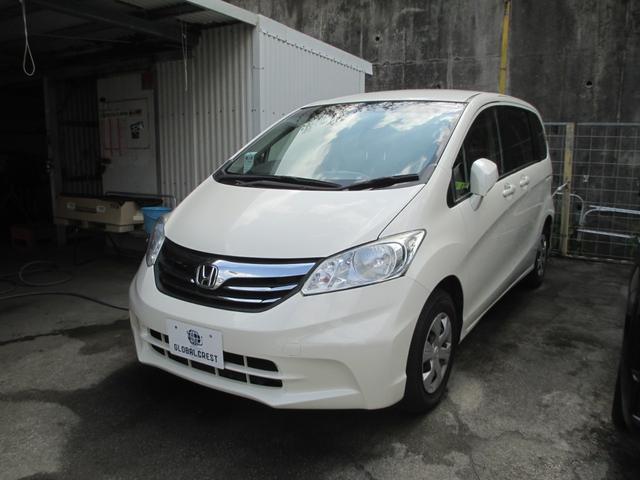 沖縄の中古車 ホンダ フリード 車両価格 99万円 リ済込 2012(平成24)年 8.2万km パールホワイト