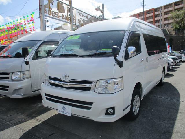 沖縄の中古車 トヨタ ハイエースワゴン 車両価格 229万円 リ済込 2011(平成23)年 11.3万km パールホワイト