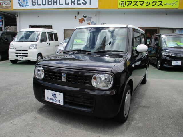 沖縄の中古車 スズキ アルトラパン 車両価格 74万円 リ済込 2013(平成25)年 6.2万km ブラウンII