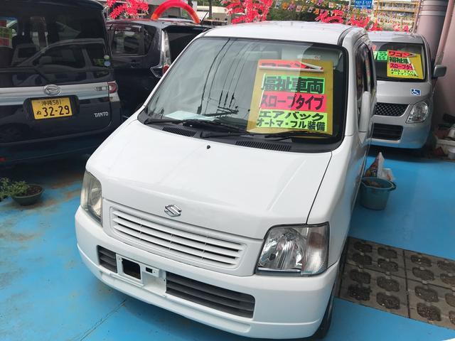 沖縄の中古車 スズキ ワゴンR 車両価格 25万円 リ済別 2003(平成15)年 11.2万km ホワイト