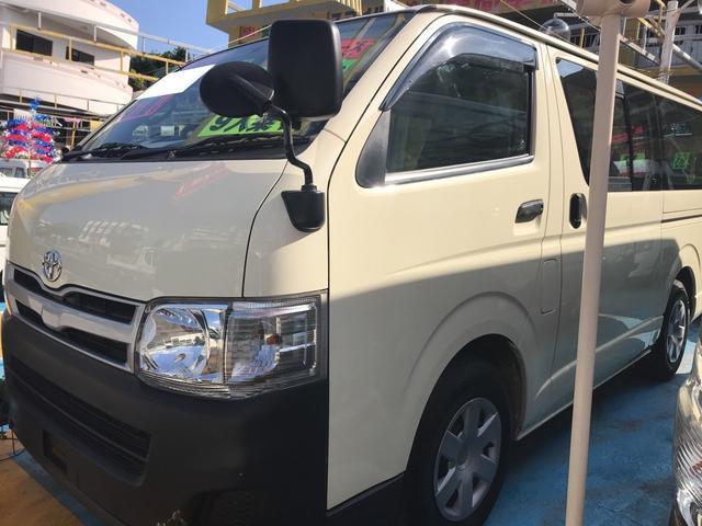 沖縄県の中古車ならレジアスエースバン DX スライドドア ワンボックス 9人乗り