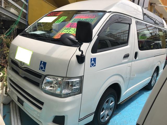 沖縄県の中古車ならレジアスエースバン 福祉車両 AT TV ナビ バックカメラ 電動スライドドア