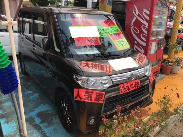 沖縄の中古車 ダイハツ タント 車両価格 65万円 リ済別 2012(平成24)年 9.7万km ブロンズ