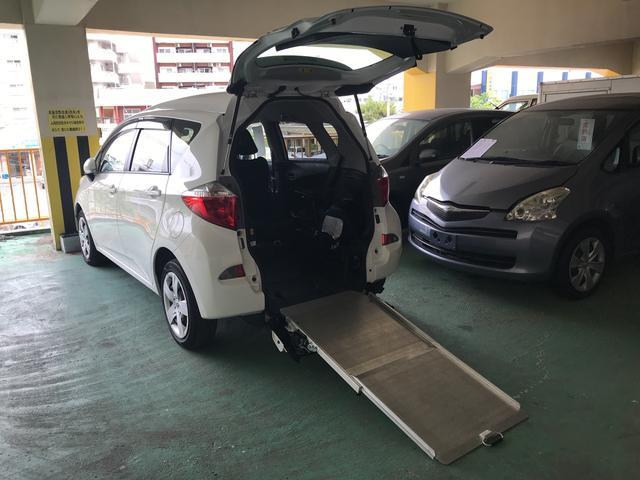 沖縄県の中古車ならラクティス X 福祉車両 CVT 修復歴無 ナビ オーディオ付 5名乗り