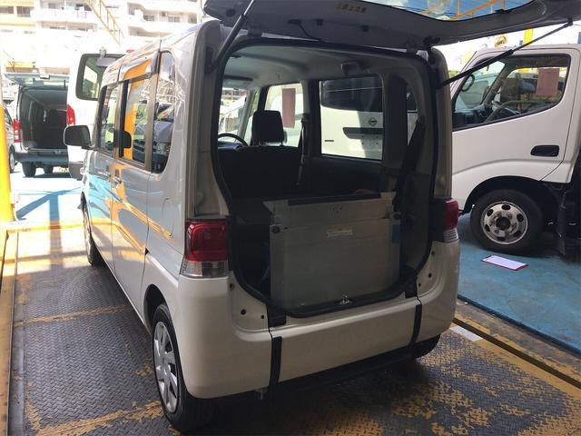 沖縄の中古車 ダイハツ タント 車両価格 39万円 リ済別 2012(平成24)年 10.3万km シロ