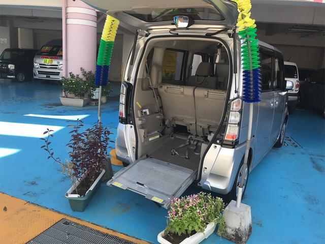 沖縄県の中古車ならN-BOX+ 福祉車両 CVT ナビ スマートキー バックカメラ