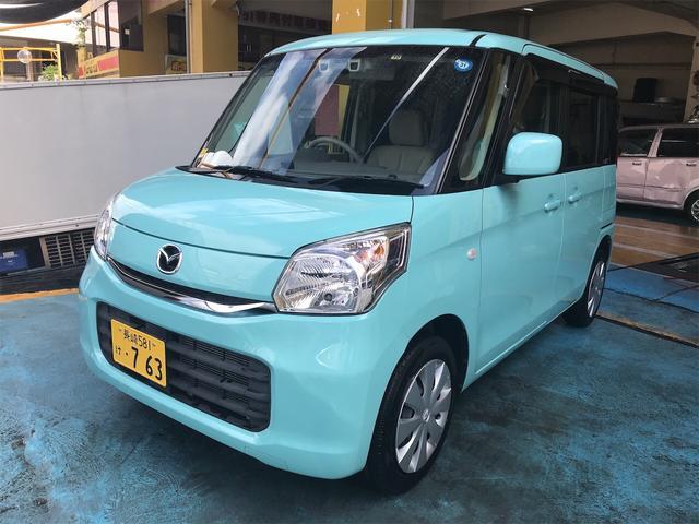 沖縄の中古車 マツダ フレアワゴン 車両価格 72万円 リ済別 2015(平成27)年 6.5万km ミドリ