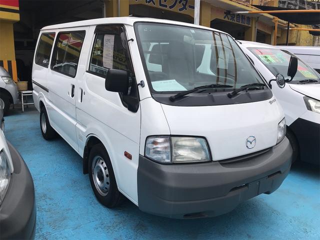 沖縄の中古車 マツダ ボンゴバン 車両価格 69万円 リ済別 2014(平成26)年 9.3万km シロ