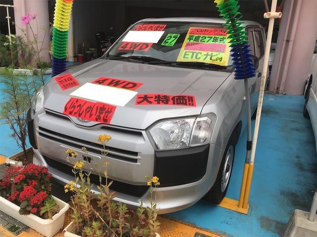 沖縄の中古車 トヨタ プロボックス 車両価格 65万円 リ済別 2015(平成27)年 10.8万km シルバー