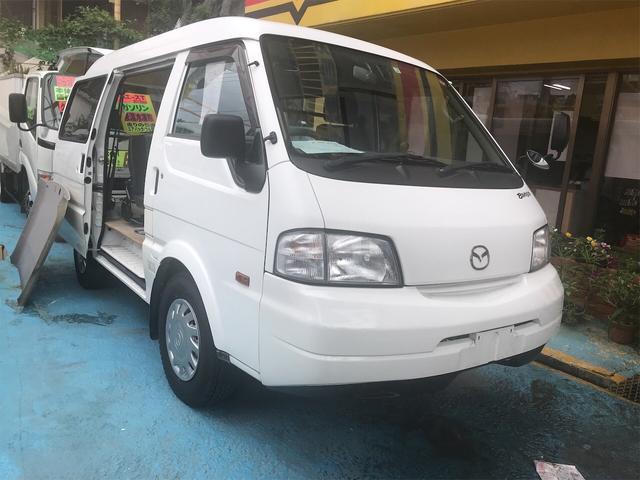 沖縄県浦添市の中古車ならボンゴバン GL スライドドア 4WD ミニバン 5名乗り AC