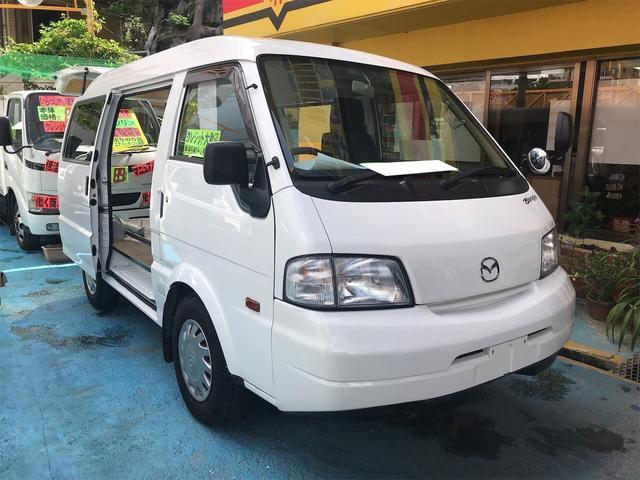 沖縄県の中古車ならボンゴバン GL 両側スライドドア ミニバン AC AT ホワイト