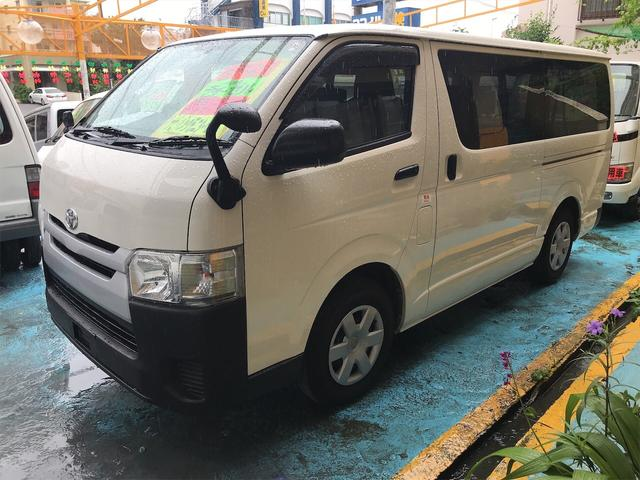 沖縄県浦添市の中古車ならレジアスエースバン DX スライドドア TV ナビ バックカメラ ETC 9名乗り