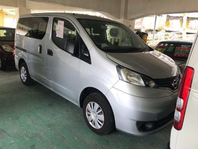 沖縄県浦添市の中古車ならNV200バネットバン GX スライドドア 5名乗り AC シルバー パワーウィンドウ