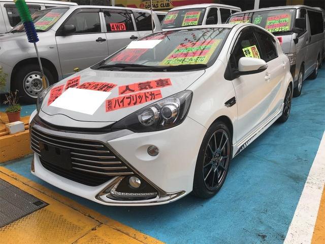沖縄県浦添市の中古車ならアクア G G's ドライブレコーダー Bモニター クルーズコントロール ABS