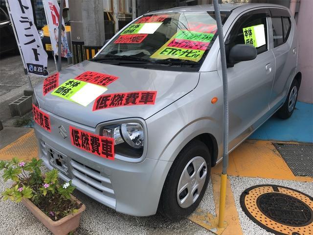 沖縄の中古車 スズキ アルト 車両価格 29万円 リ済別 2015(平成27)年 10.8万km シルバー