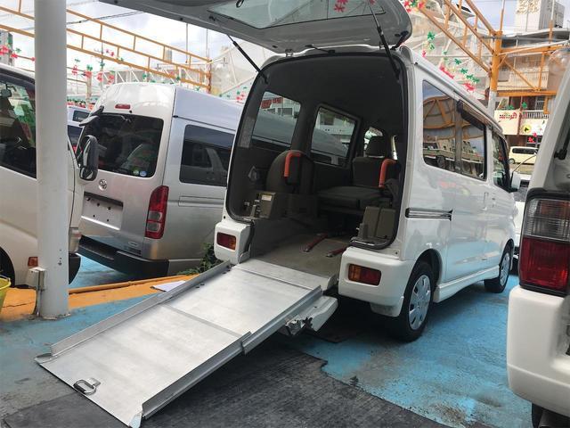 沖縄県の中古車ならアトレーワゴン  スローパー 福祉車両 車椅子1台搭載可 AT 修復歴無 オーディオ付