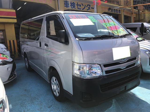 沖縄県浦添市の中古車ならハイエースバン ロングDX PW ABS ETC AC