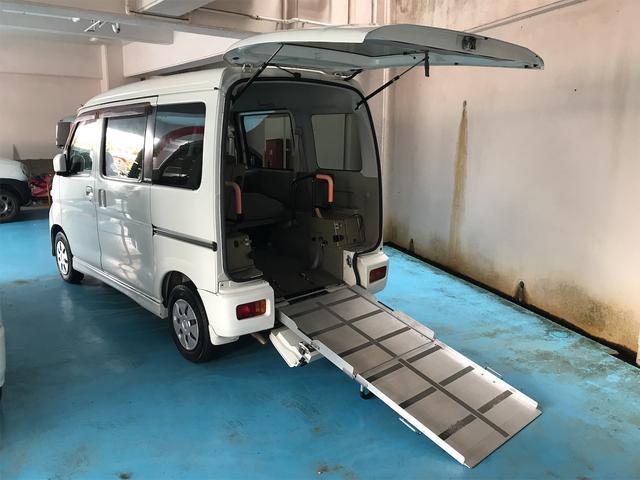 沖縄県浦添市の中古車ならアトレーワゴン  スローパー 福祉車両 車椅子1台搭載可 AT ターボ AC 修復歴無 両側スライドドア