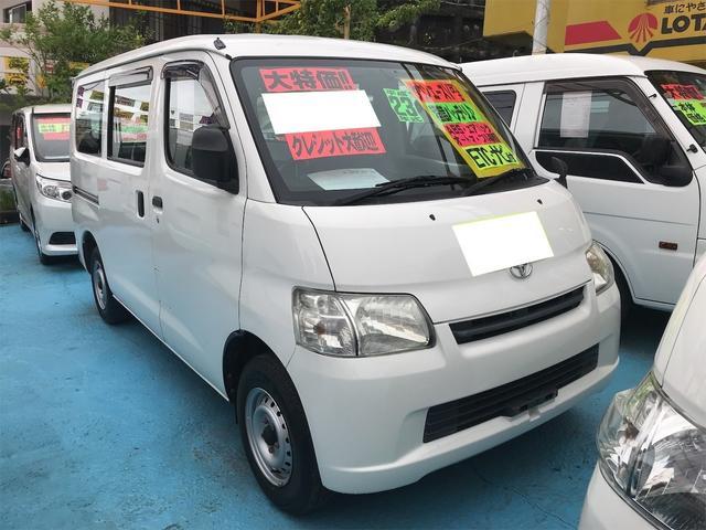 沖縄の中古車 トヨタ タウンエースバン 車両価格 69万円 リ済別 2011(平成23)年 10.4万km ホワイト