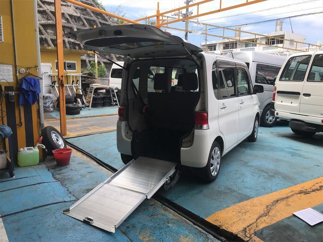 沖縄県の中古車ならタント  スローパー 福祉車両 CVT 修復歴無 スライドドア オーディオ付 4名乗り