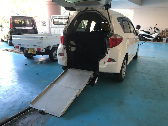 沖縄県の中古車ならラクティス X スローパー 福祉車両 CVT オーディオ付