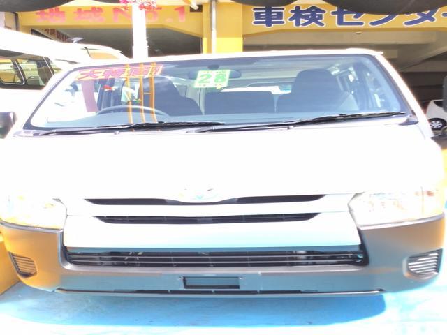 沖縄県浦添市の中古車ならハイエースバン ロングDX AT エアコン