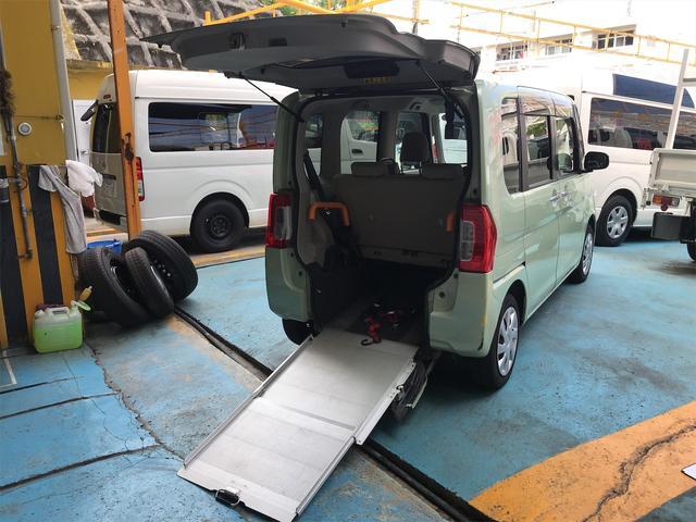沖縄の中古車 ダイハツ タント 車両価格 59万円 リ済込 2016(平成28)年 9.2万km Lグリーン