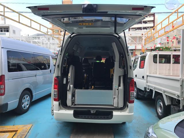 トヨタ レジアスエースバン  ウェルキャブ福祉車両 キーレスエントリー CVT ABS エアコン パワーステアリング