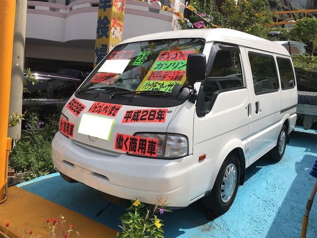 沖縄の中古車 マツダ ボンゴバン 車両価格 79万円 リ済込 2016(平成28)年 7.1万km ホワイト