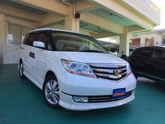 沖縄の中古車 ホンダ エリシオンプレステージ 車両価格 108万円 リ済込 平成21年 9.5万K パールホワイト