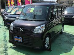沖縄の中古車 マツダ フレアワゴン 車両価格 108万円 リ済込 平成27年 1.3万K DブラウンM