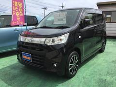 沖縄の中古車 スズキ ワゴンRスティングレー 車両価格 78万円 リ済込 平成25年 7.7万K ブラックM