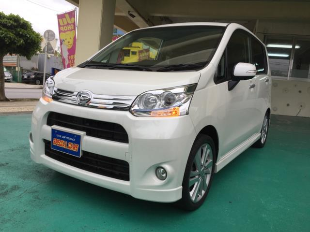沖縄の中古車 ダイハツ ムーヴ 車両価格 64万円 リ済込 平成23年 7.7万km パールホワイト