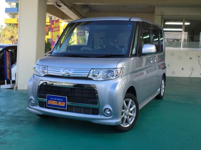 沖縄の中古車 ダイハツ タント 車両価格 79万円 リ済込 平成25年 4.3万km シルバーM
