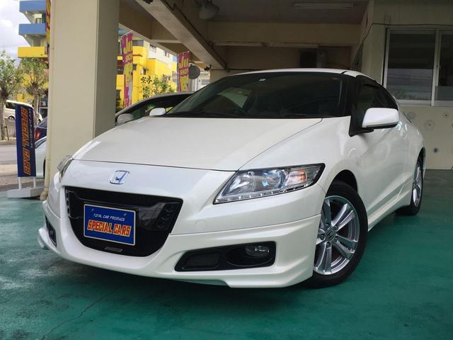 沖縄の中古車 ホンダ CR-Z 車両価格 89万円 リ済込 平成22年 7.7万km パールホワイト