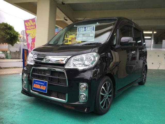 沖縄の中古車 ダイハツ タントエグゼ 車両価格 74万円 リ済込 平成24年 7.5万km ブラックM