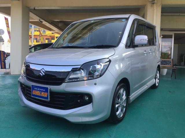 沖縄の中古車 スズキ ソリオバンディット 車両価格 85万円 リ済込 平成25年 4.1万km シルバーM