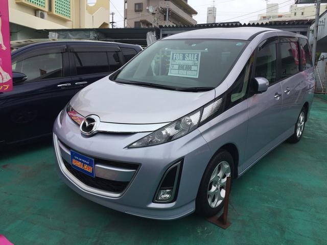 沖縄の中古車 マツダ ビアンテ 車両価格 79万円 リ済込 平成22年 7.0万km シルバーM