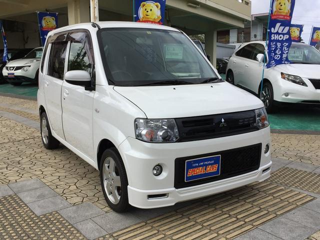 沖縄の中古車 三菱 トッポ 車両価格 55万円 リ済込 2013(平成25)年 5.8万km パールホワイト