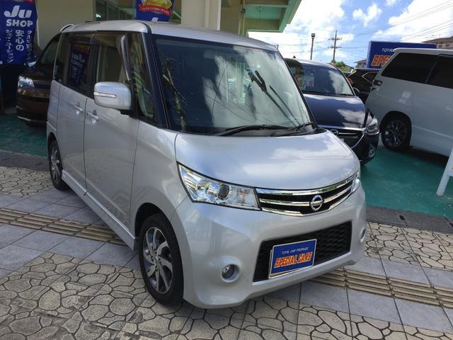 沖縄の中古車 日産 ルークス 車両価格 65万円 リ済込 2012(平成24)年 5.5万km シルバーM