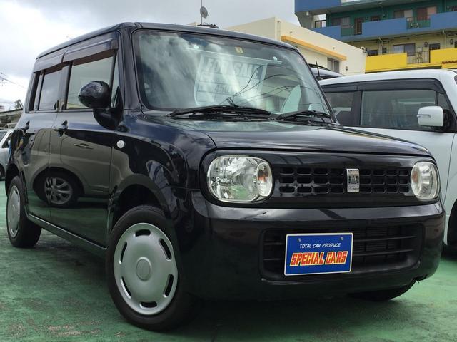 沖縄の中古車 スズキ アルトラパン 車両価格 43万円 リ済込 2012(平成24)年 10.0万km ブラックM